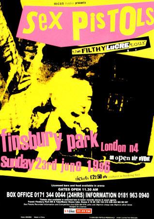 Finsbury Park Advert, June 1996