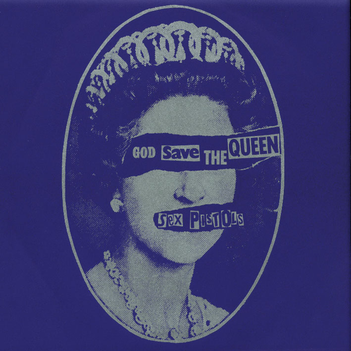 "God Save The Queen 7"" Single Sleeve, Virgin Records 1977"