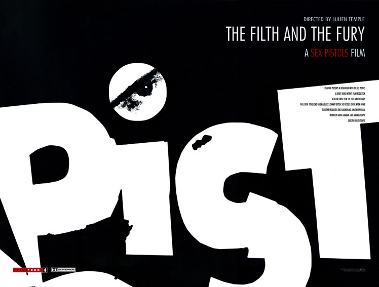 The Filth and the Fury: UK Movie Poster, FilmFour 2000