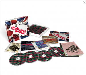 Sex Pistols Live 76 4 CD set