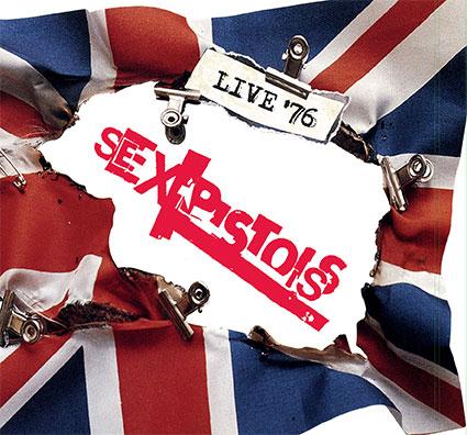 Sex Pistols Live '76 4 CD / LP box set