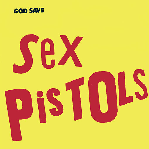 God Save Sex Pistols' vinyl LP