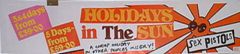 Holidays in the Sun - Banner poster 1977