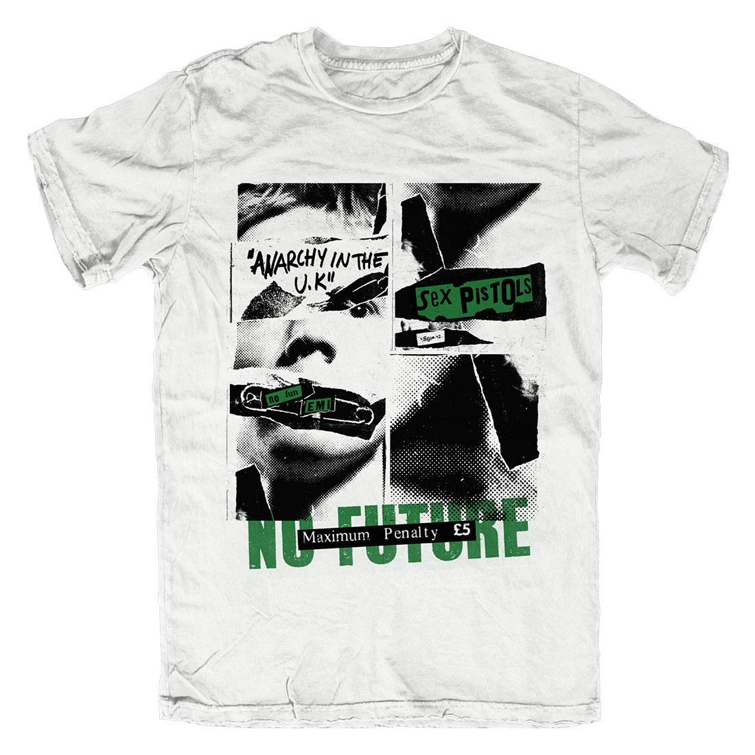 No Future - White T-Shirt