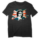 God Save The Queen - Black T-Shirt