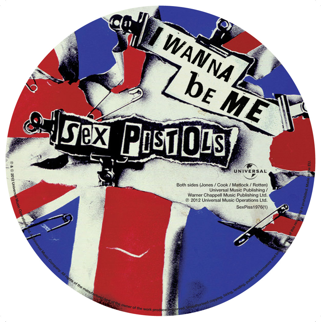 "Anarchy in the UK  7"" picture disc, 2012 b-side"