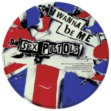 """Anarchy in the UK  7"""" picture disc, 2012 b-side"""