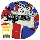 """Anarchy in the UK  7"""" picture disc, 2012"""
