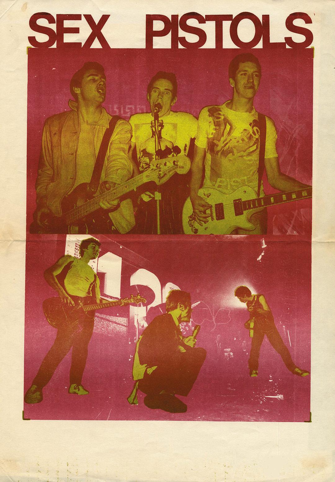 Sex Pistols - Flyer 1976