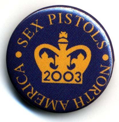2003 North American Tour - Badge