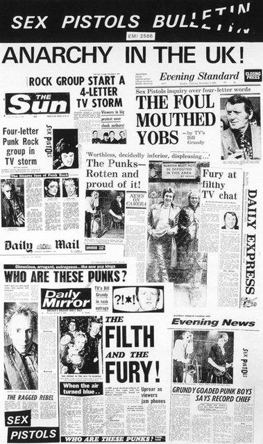 Sex Pistols Bulletin - Press Release 1977