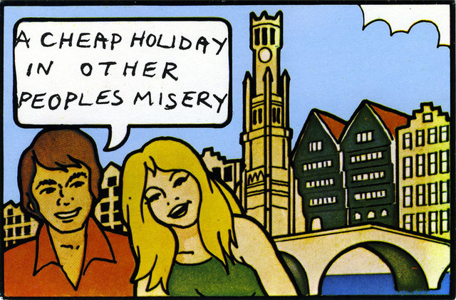 Holidays in the Sun - Postcard 1977