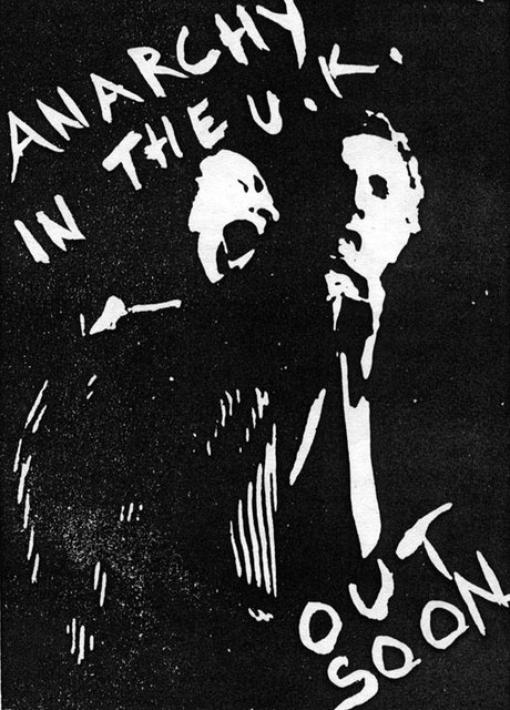 Anarchy in the UK - press ad, 1976