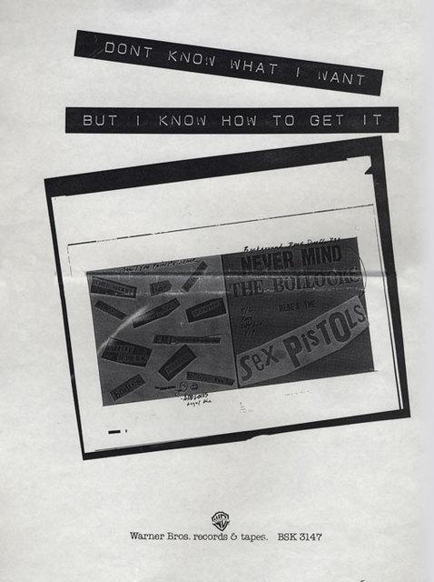 NMTB - Warner Brothers Press ad 1977