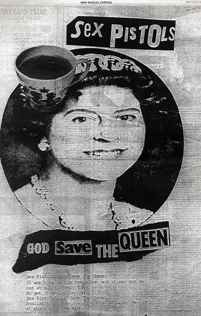 God Save The Queen - Press ad 1977