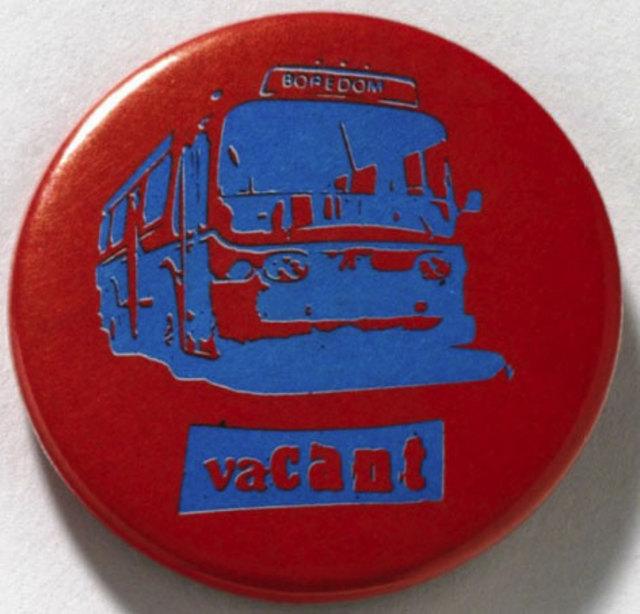 Pretty Vacant - Badge