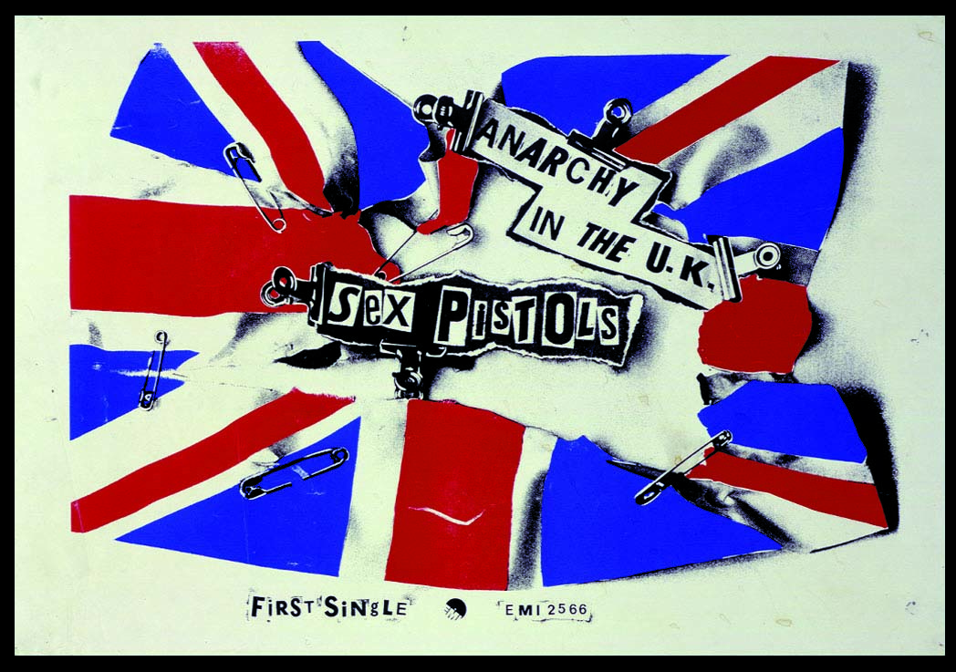 Anarchy in the UK - EMI Poster 1976