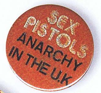 Anarchy in the UK - Badge