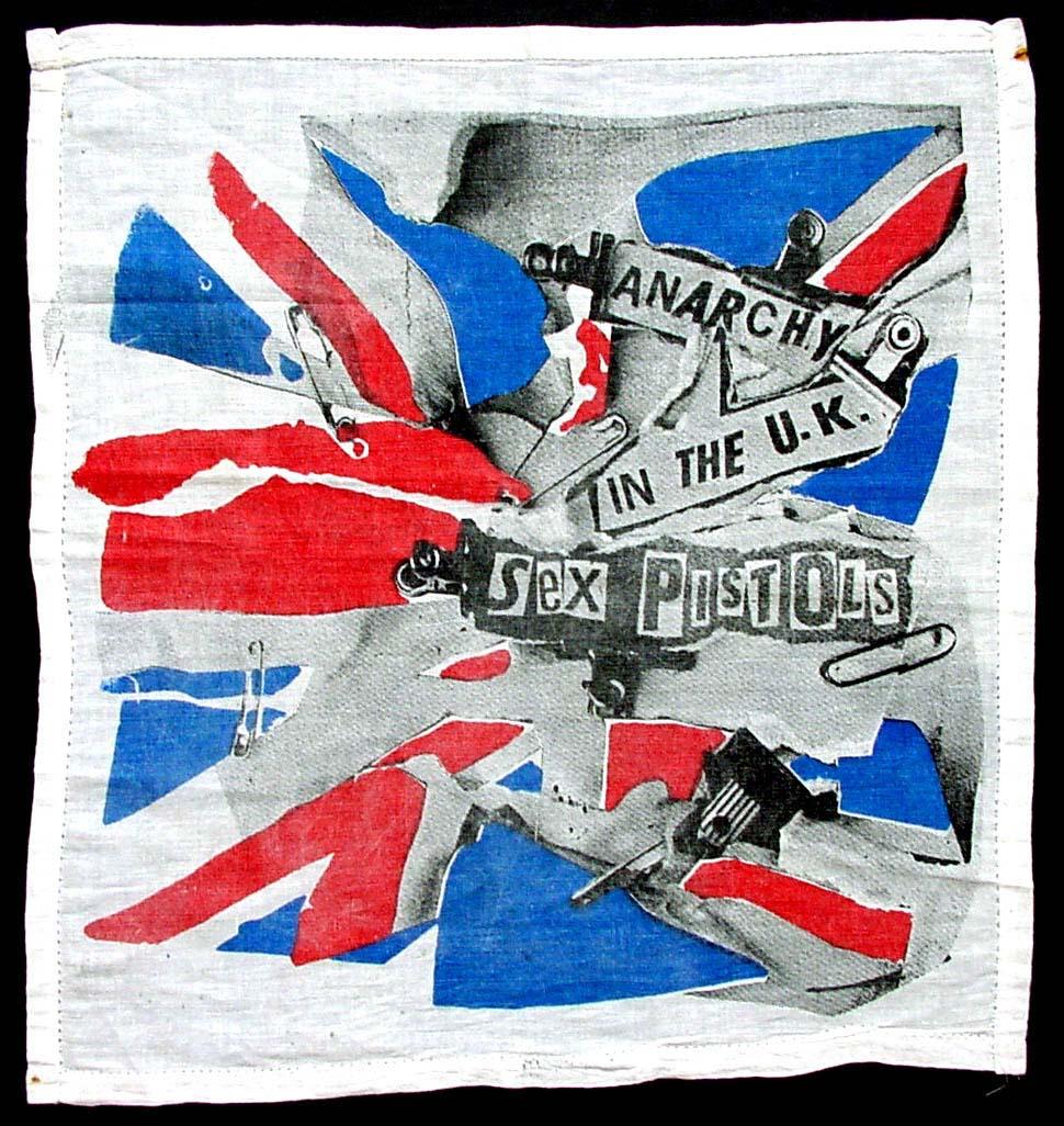 Anarchy in the UK - handkerchief 1977