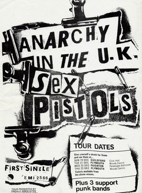 Anarchy Tour - Flyer 1976