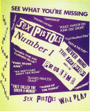 Sex Pistols Number 1 - Film Poster 1976