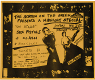 Screen On The Green Cinema, Islington, London August 29th 1976 - flyer