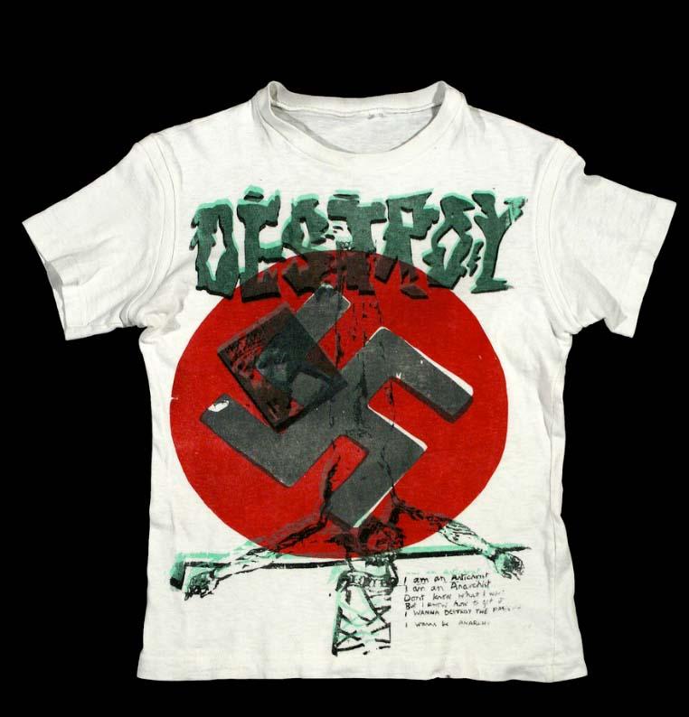 Destroy T-shirt 1977