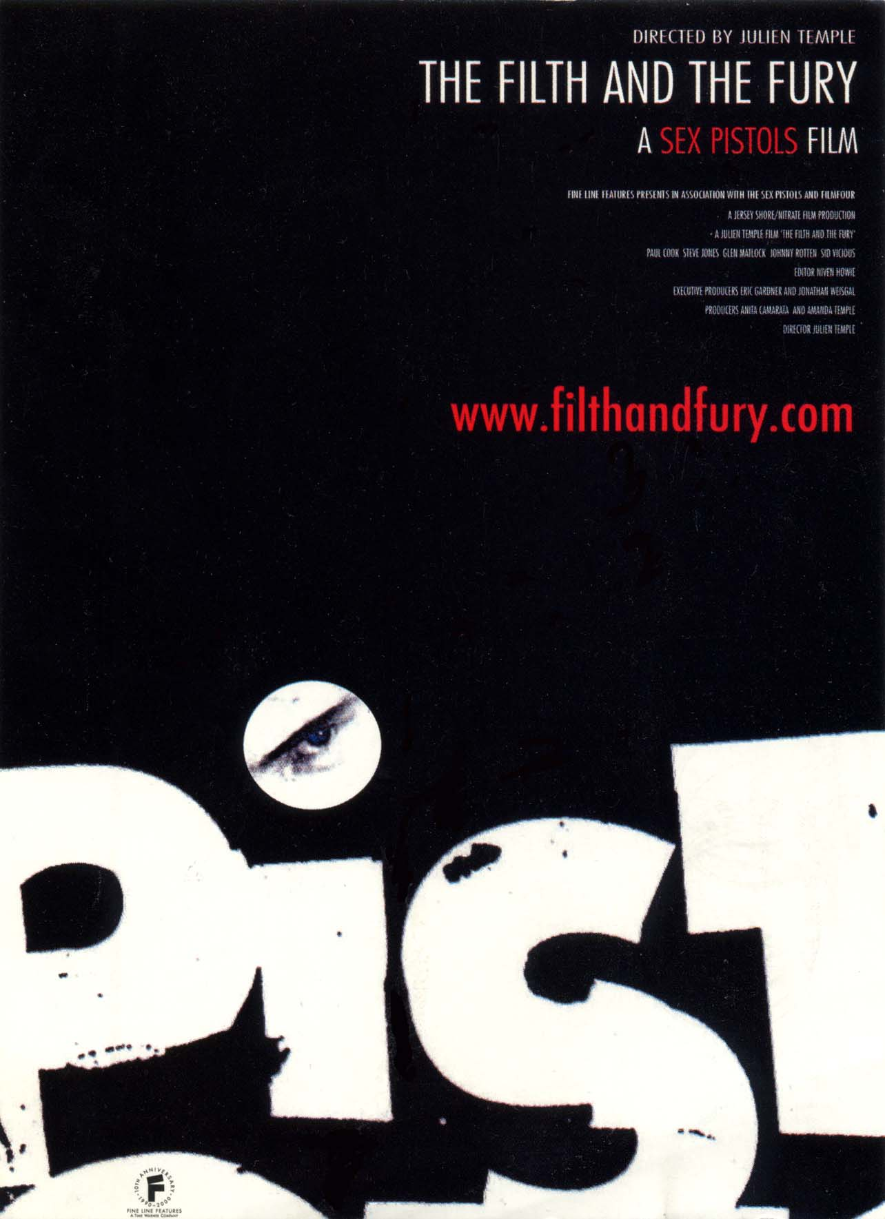 The Filth and the Fury - US Poster 2000