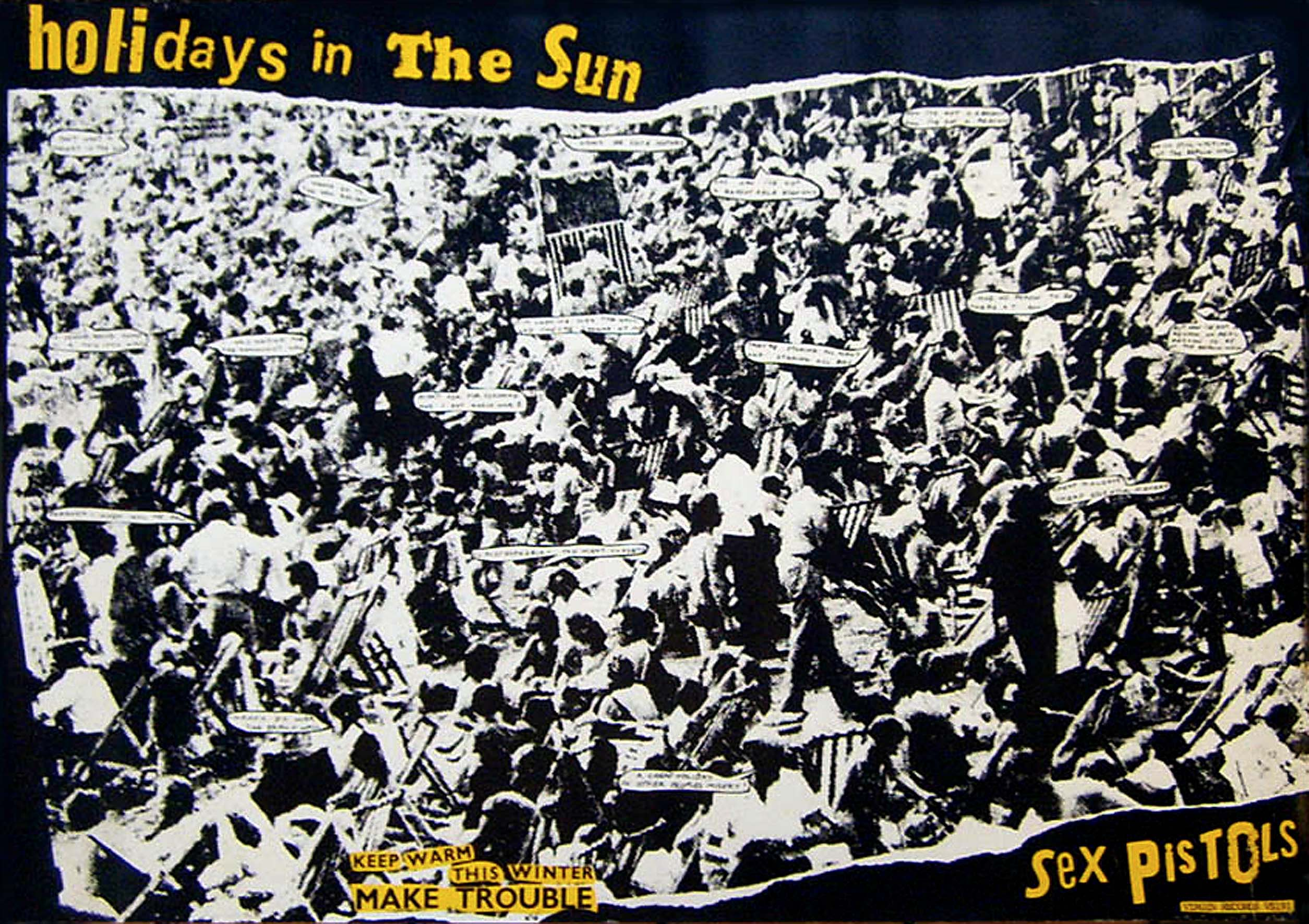 Holidays in the Sun - Poster 1977