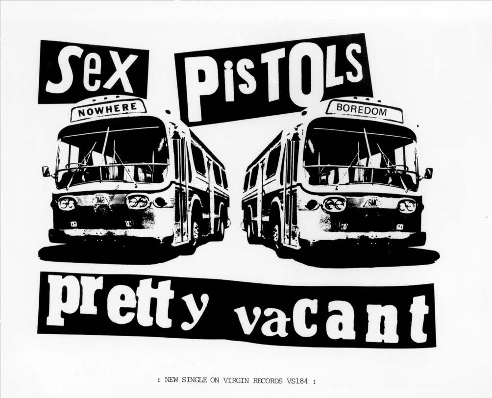 Pretty Vacant - Poster 1977