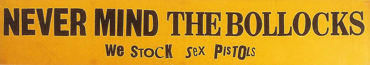 NMTB - Record Shop Banner 1977