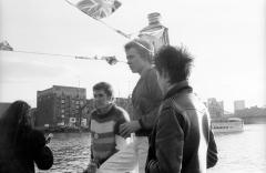 Queen Elizabeth River Boat, River Thames, London 7th June 1977 © Dave Wainright