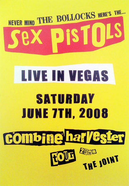 7.6.08 The Joint, Las Vegas, USA - Poster