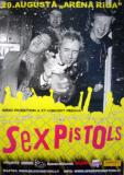 20.8.08 Arena, Riga, Latvia - Poster