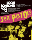 3.8.08 Live at Loch Lomond Festival, Scotland, UK - Poster