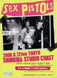 12.8.08 Studio Coast, Tokyo, Japan - Poster