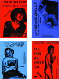 Filthy Lucre Tour - Press Pack Cards 1996