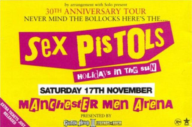 17.11.07 M.E.N Arena, Manchester, UK - Press Ad