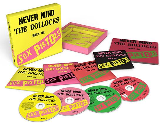 Never Mind The Bollocks – 40th Anniversary Deluxe Edition, 2017 CD Box set