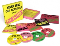 Never Mind The Bollocks – 40th Anniversary Deluxe Edition, 2017 CD Box set