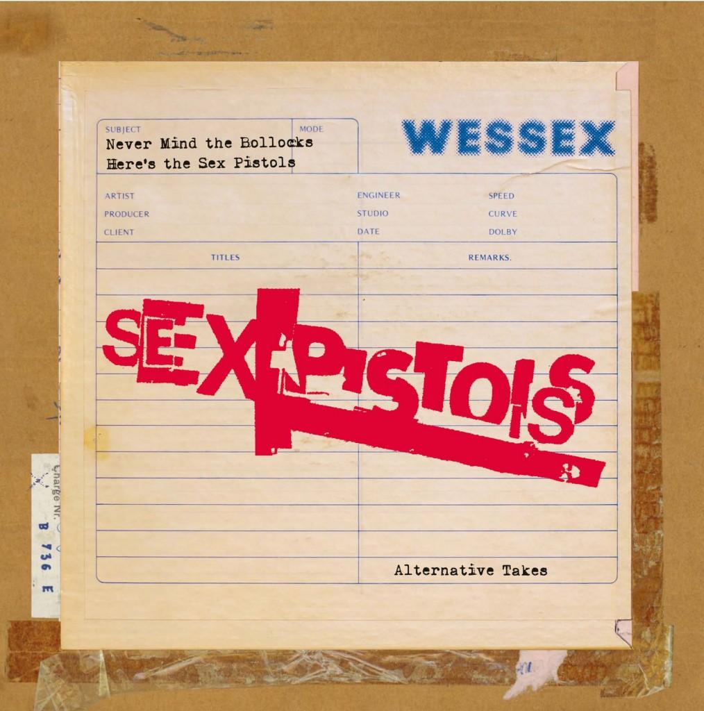 "Never Mind The Bollocks, lternative takes 7x7"" box set - Record Store Day 2014"
