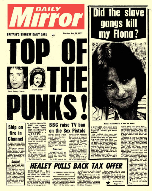 Daily Mirror July 14th 1977