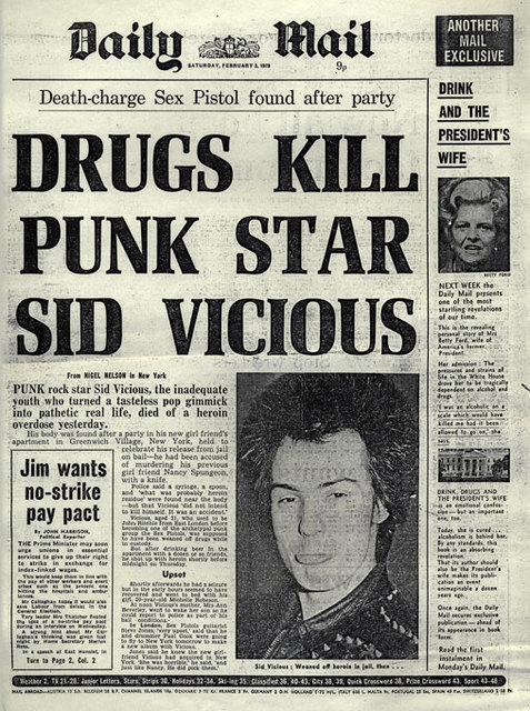 Daily Mail, December 3rd 1979