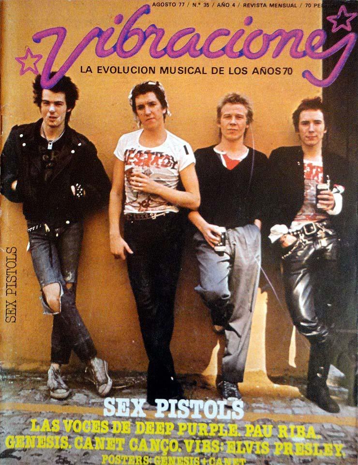Vibracione Magaziner, August 1977
