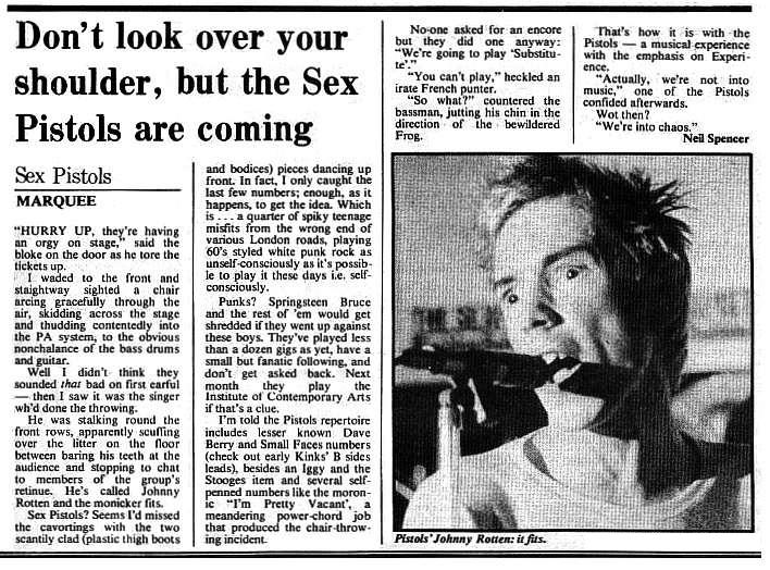 NME, February 12th 1976