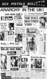 """Sex Pistols Bulletin ""press release 1977"