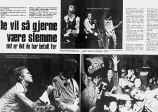 Scandinavia tour, 1977