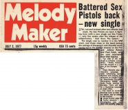 Melody Maker, July 2nd 1977