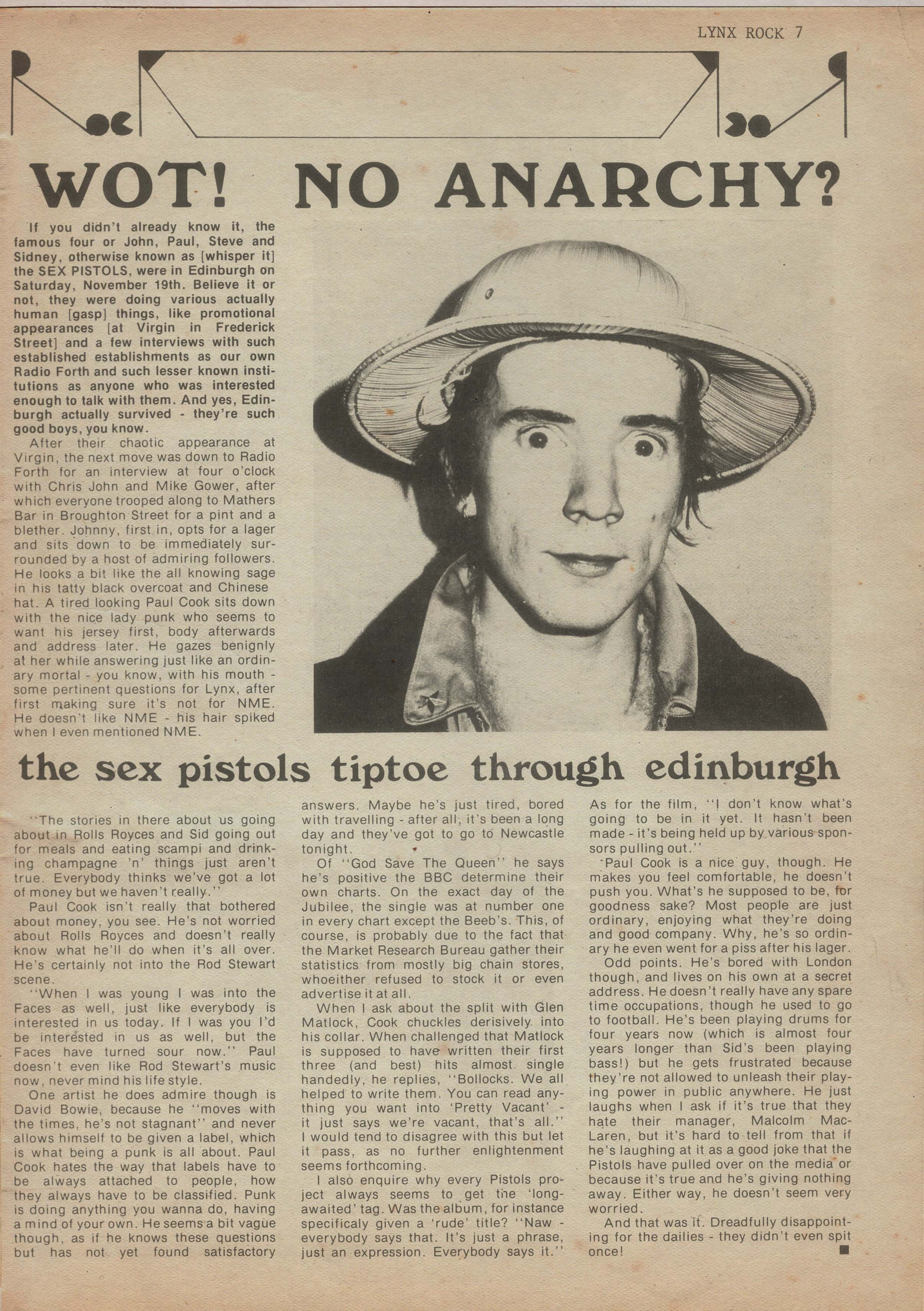Lynx Fanzine 1977