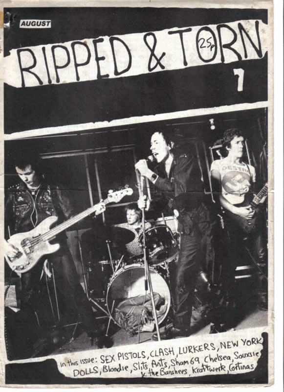 Ripped & Torn Fanzine  1